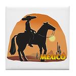 Mexican Horse Tile Coaster