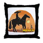 Mexican Horse Throw Pillow