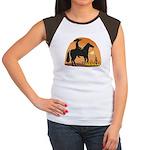 Mexican Horse Women's Cap Sleeve T-Shirt
