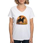 Mexican Horse Women's V-Neck T-Shirt