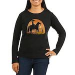 Mexican Horse Women's Long Sleeve Dark T-Shirt