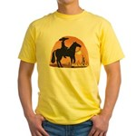 Mexican Horse Yellow T-Shirt