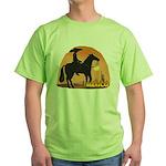 Mexican Horse Green T-Shirt