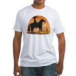 Mexican Horse Fitted T-Shirt