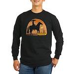 Mexican Horse Long Sleeve Dark T-Shirt