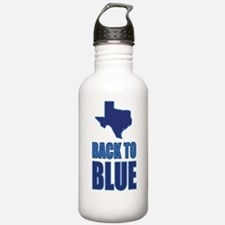 Texas: Back to Blue Water Bottle
