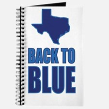Texas: Back to Blue Journal