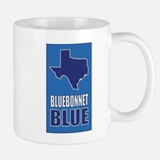 [Texas] Bluebonnet Blue Mugs