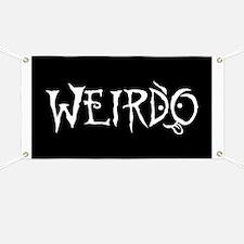 Weirdo Banner
