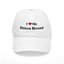 I Love Ibizan Hound Baseball Cap