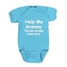 Help Me Grammy Baby Bodysuit