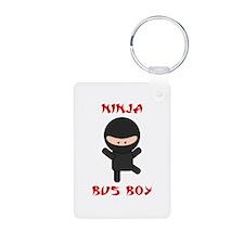 Ninja Bus Boy Keychains