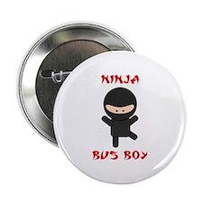 """Ninja Bus Boy 2.25"""" Button"""