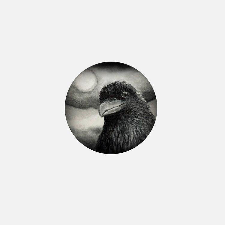Bird 64 Border Mini Button