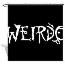 Weirdo Shower Curtain