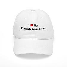 I Love Finnish Lapphund Baseball Cap