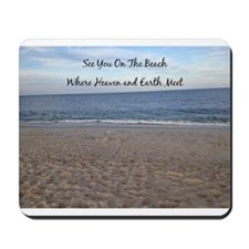 Beach Heaven Mousepad