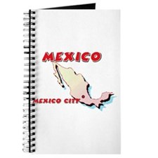 Mexico Map Journal