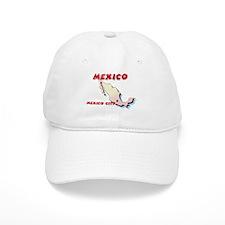 Mexico Map Cap