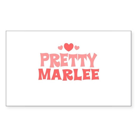 Marlee Rectangle Sticker