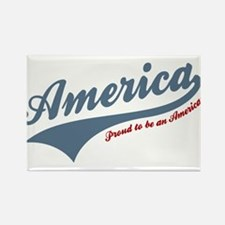 America Proud To Be American 4th of July Magnets