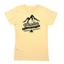 Whistler Mountain Vintage Girl's Tee