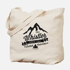 Whistler Mountain Vintage Tote Bag