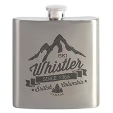 Whistler Mountain Vintage Flask