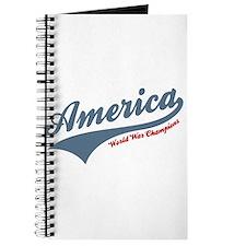 America World War Champions 4th of July Journal