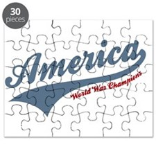 America World War Champions 4th of July Puzzle
