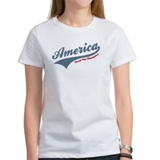 America World War Champions 4th of July T-Shirt