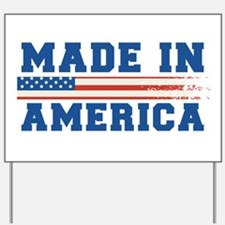 Made In America 4th of July Yard Sign
