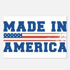Made In America 4th of July Postcards (Package of