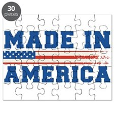 Made In America 4th of July Puzzle