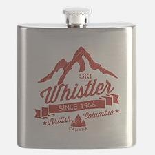 Whistler Mountain Vintage Flask
