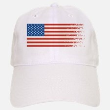 American Flag Graffiti 4th of July Baseball Baseball Baseball Cap