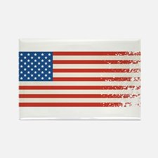 American Flag Graffiti 4th of July Magnets