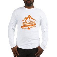 Whistler Mountain Vintage Long Sleeve T-Shirt