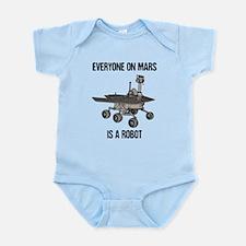 Mars Census Infant Bodysuit
