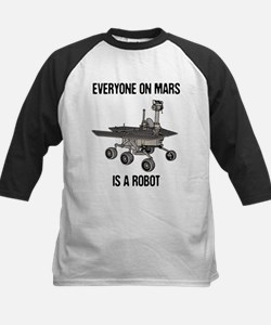 Mars Census Kids Baseball Jersey