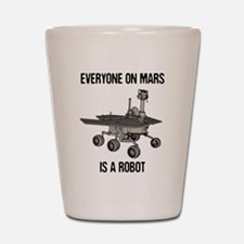 Mars Census Shot Glass