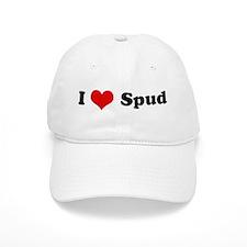 I Love Spud Baseball Cap