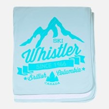 Whistler Mountain Vintage baby blanket