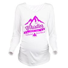 Whistler Mountain Vi Long Sleeve Maternity T-Shirt