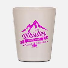 Whistler Mountain Vintage Shot Glass