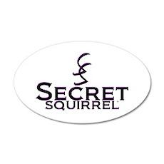 SECRET SQUIRREL Wall Decal