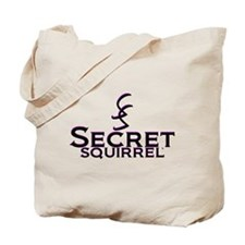 SECRET SQUIRREL Tote Bag