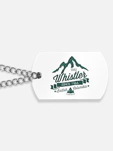 Whistler Mountain Vintage Dog Tags