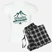Whistler Mountain Vintage Pajamas