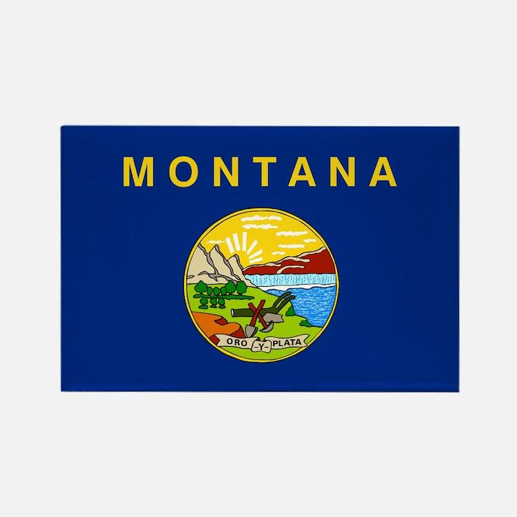 Montana Flag Magnets